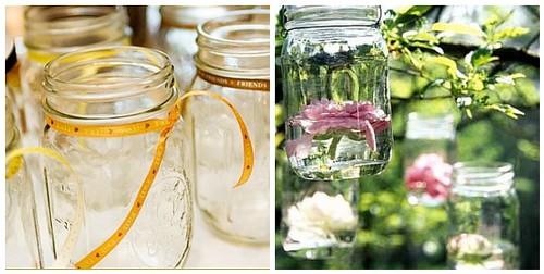 Wedding Ideas Using Mason Jars: Mason Jars For Outdoor Wedding Decorations