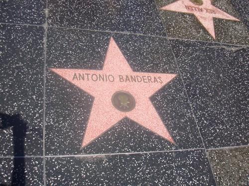 ANTONIO BANDERAS EN LA CALLE DE LAS ESTRELLAS, LOS ANGELES -CALIFORNIA ... Antonio Banderas