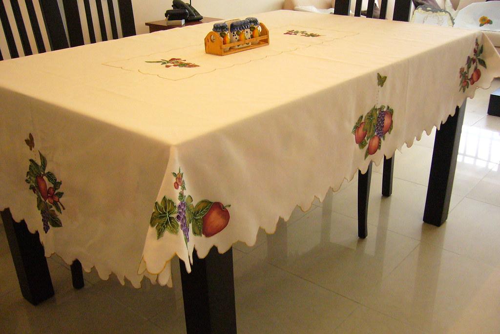 artesania colombiana mantel de frutas by bordado liquido artesania colombiana
