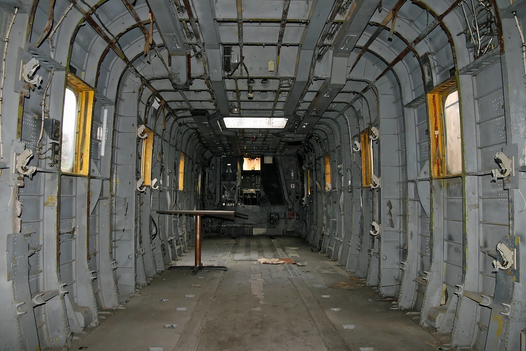... Sikorsky HH-3F Pelican (66-153292) - Inside, Looking Forward |