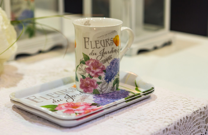 kukkamuki tarjotin fleurs du jardin