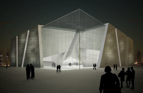 artist rendition of the Italian pavilion at Shanghai World Expo 2010 | by stefano meneghetti