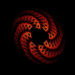 Flame Fractals Gallery