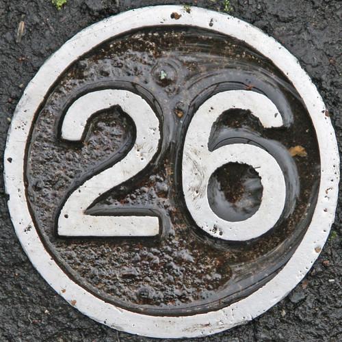 Number  Birthday Cake Tin