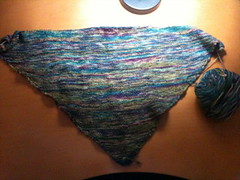 Seafoam Shawl | by Shel Kennon