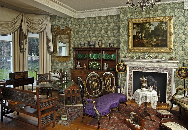 The Drawing Room Victorian Mansion Cecil Higgins Art Gal Flickr