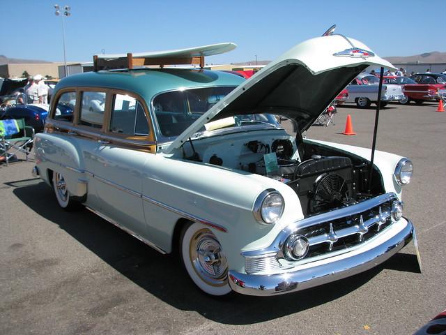 1953 chevrolet deluxe 4 door tin woody wagon 39 490 333 39 2 for 1953 chevy 4 door