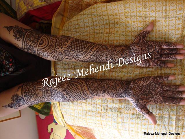 Mehndi Full Hand Bridal Design : Full hand bridal mehendi for anitha mehenu flickr