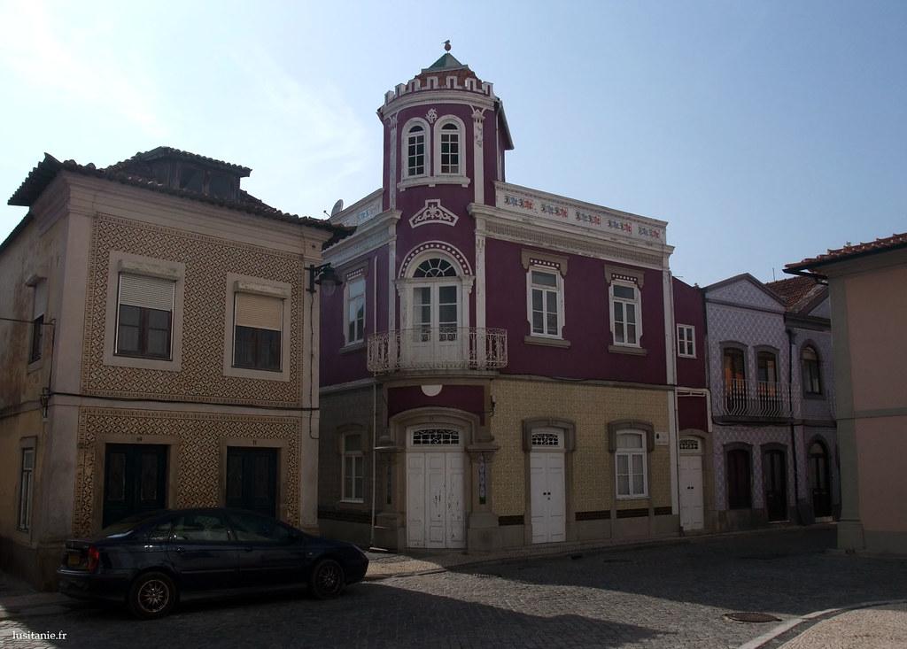 Maisons typiques de Ilhavo