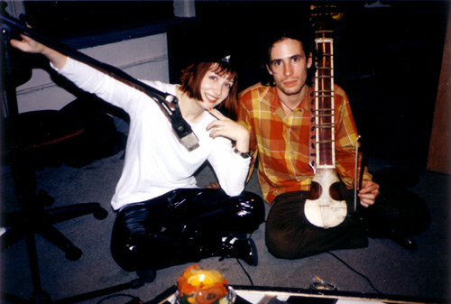 Inger Lorre And Jeff Buckley At Spa Recording Hillary Johnson Flickr