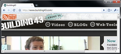 Screen Capture of Building43 | by Robert Scoble