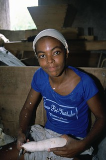 Young woman working in factory Brazil | by World Bank Photo Collection
