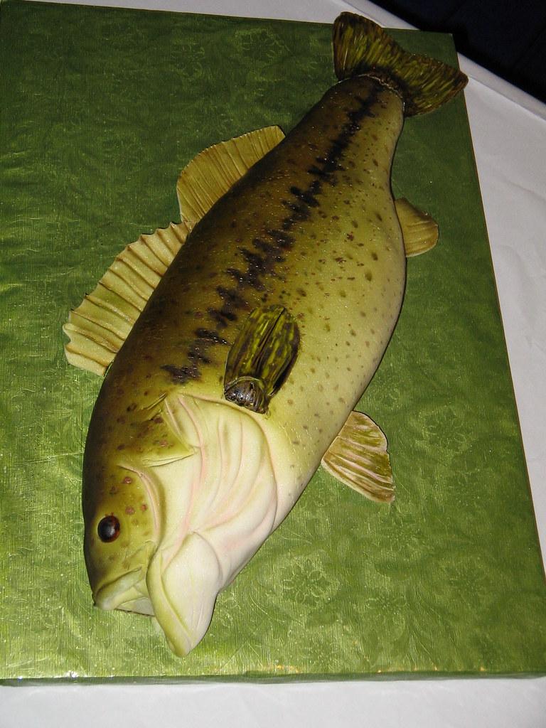 Largemouth Bass Cake Pan