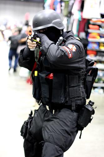 Umbrella Soldier from Resident Evil | Elliot Trinidad | Flickr