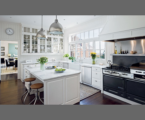 Classic All White Kitchen By Designer Victoria Hagan Flickr