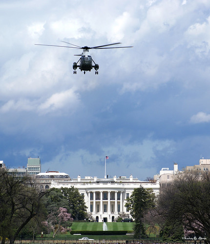 The White House & Marine One - March2009 | by CityPhotos by Rod