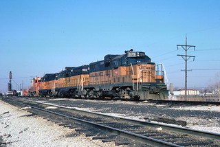 CC&P 979 and friends at Hawthorne Yard Cicero, IL | by djallenson