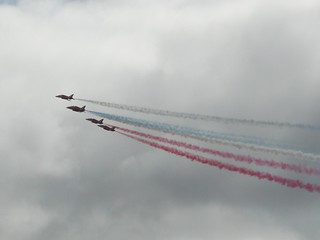 Red Arrows | by Clare L H
