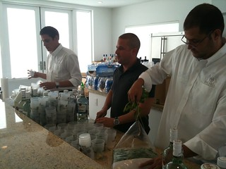Bacardi Bartenders preparing Mojitos | by miamism