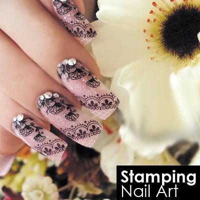 Blink Stamping Nail Art Stamping Nail Art Easy Diy Nail Flickr