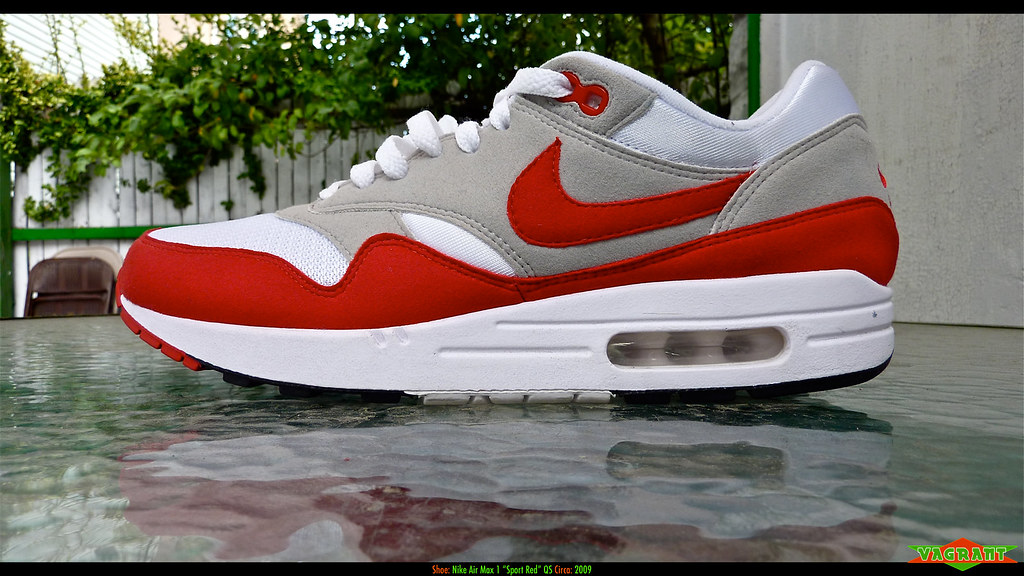 nike air max 1 og red 2009 duramax