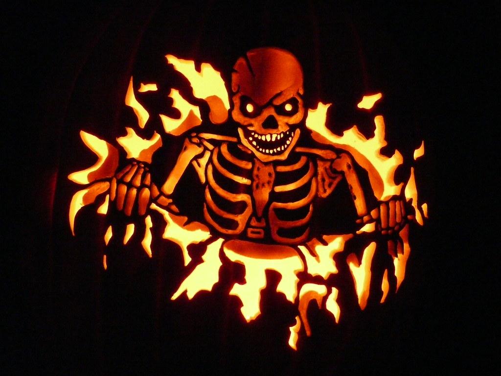 P1020421 pumpken flickr for Pumpkin eating pumpkin stencil