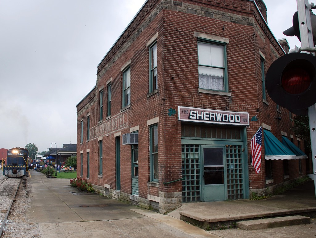 Sherwood Inn Amp Train Station New Haven Kentucky The