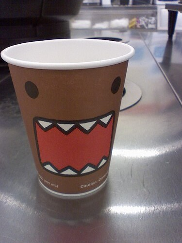 domo cup at 7 11 gorillasushi flickr