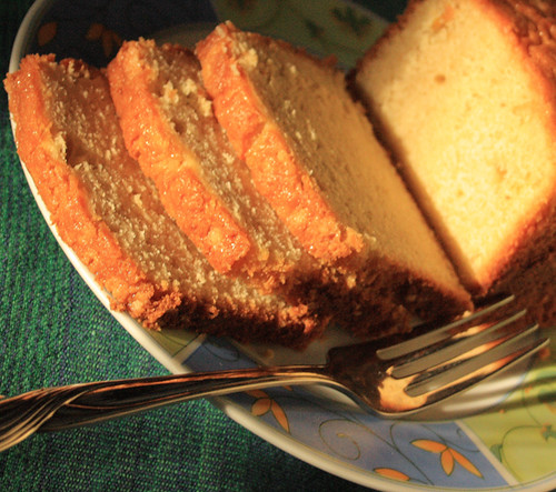 Light Pound Cake Sour Cream