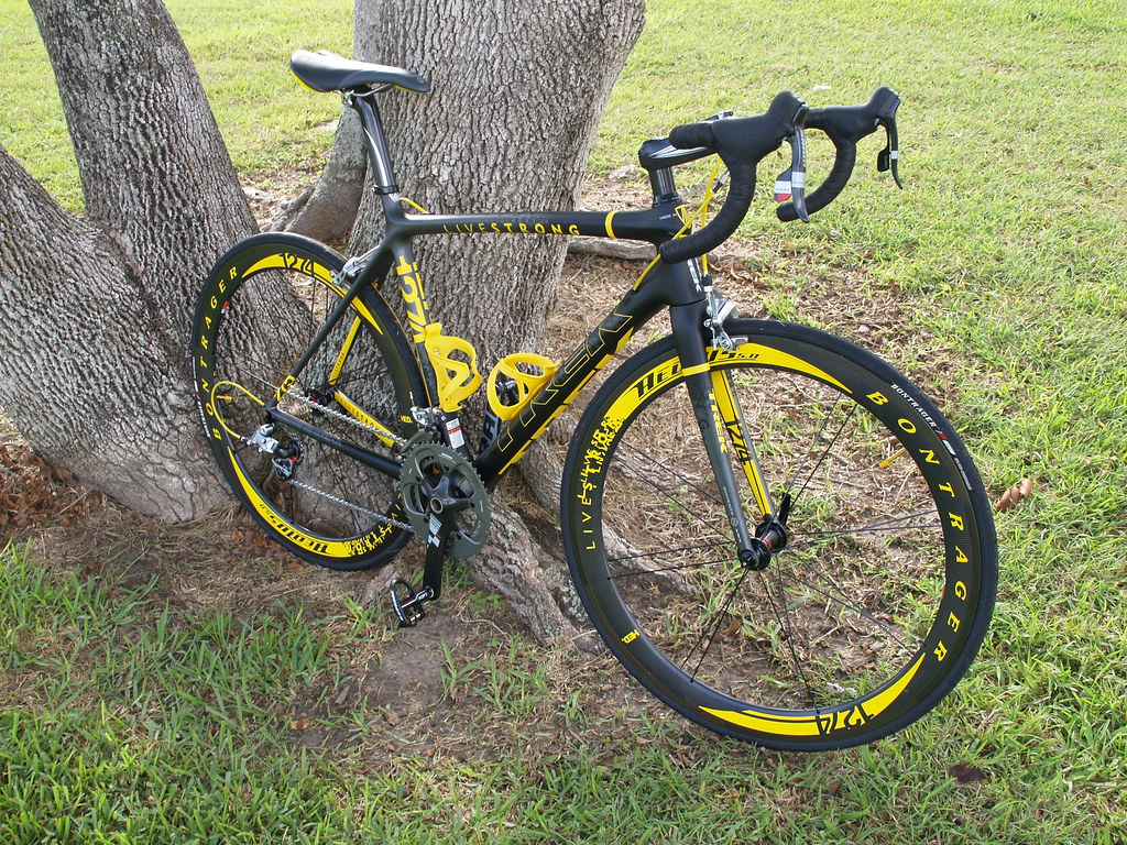lance armstrong road bike
