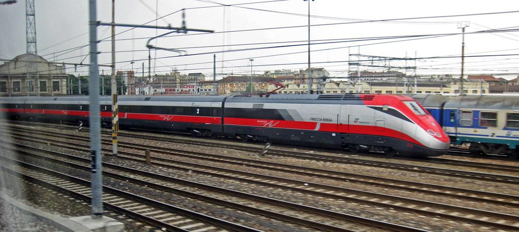 Italy Train Travel Itinerary