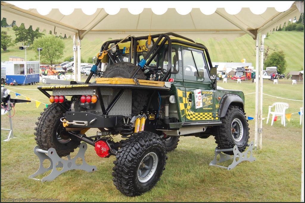 Land Rover Defender 90 Trayback Si Flickr