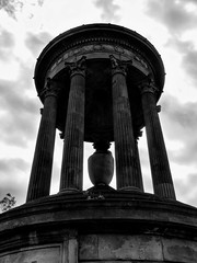 Edinburgh - Calton Hill - Dugald Stewart Monument | by pariscub