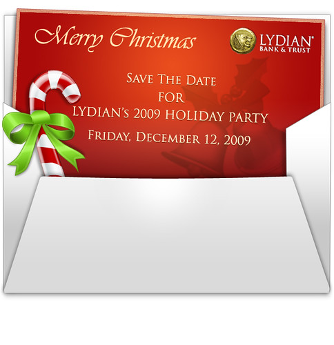 A Christmas Email Invitation
