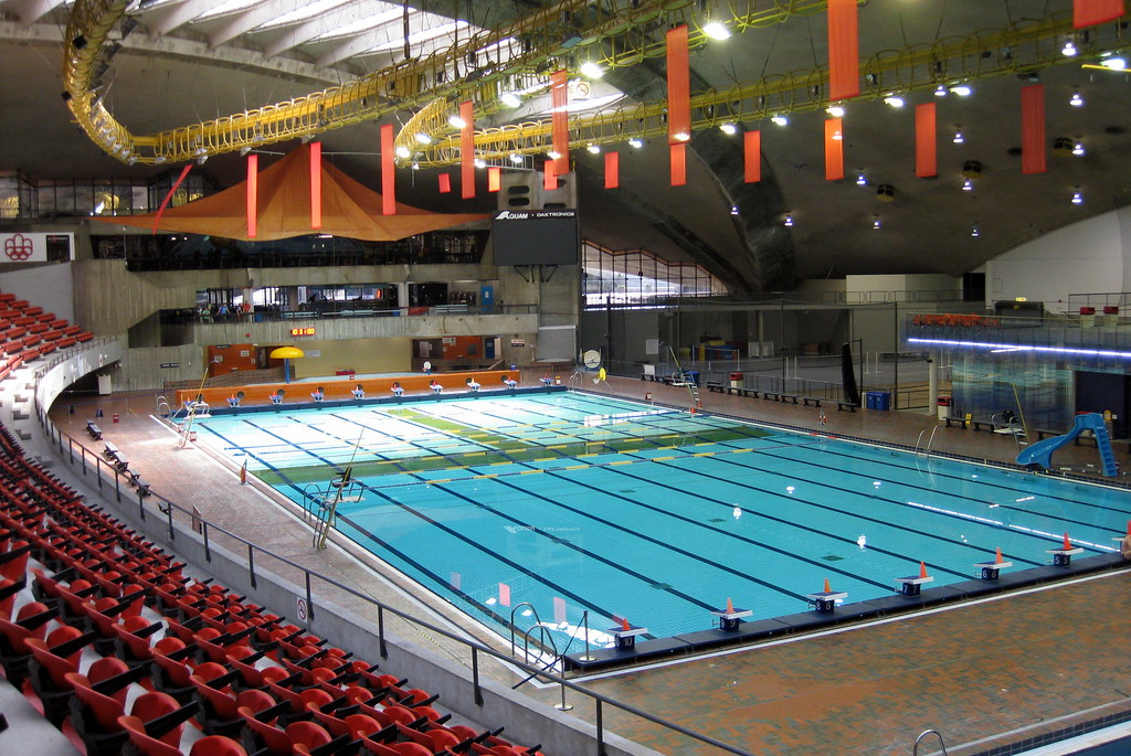 Montr al hochelaga maisonneuve la piscine olympique de for La piscine in english