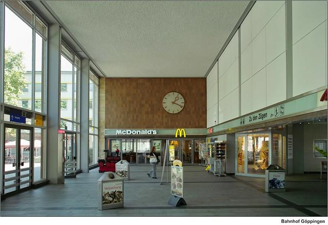 S And W >> Bahnhof Göppingen | Umgestaltung ab 2008 und Aufnahme von ...