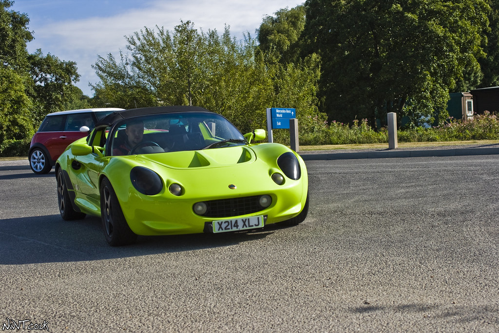 ... Lime Green Lotus Elise S1 Sport 160 ? | By NWVT.co.uk