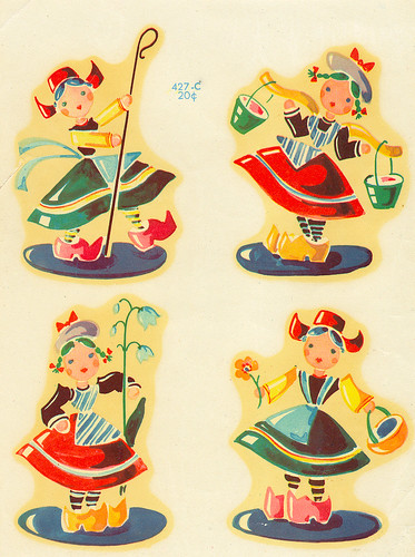 Vintage Dutch Decals | by contrarymary
