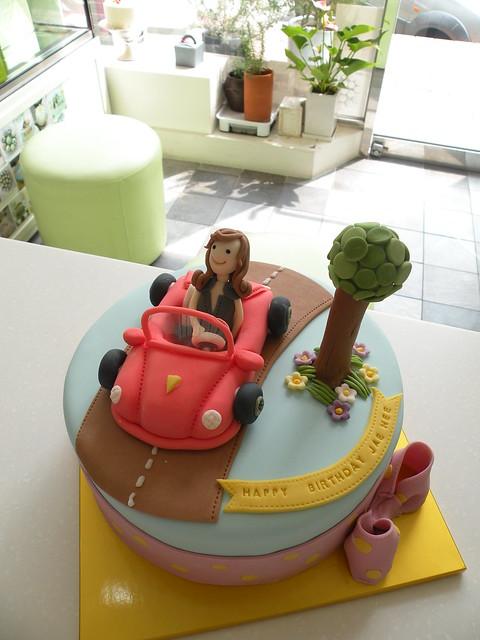 Car Cake Games