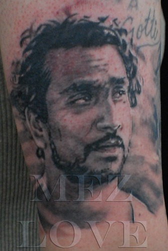 Sayid from Lost tattoo | by Mez Love