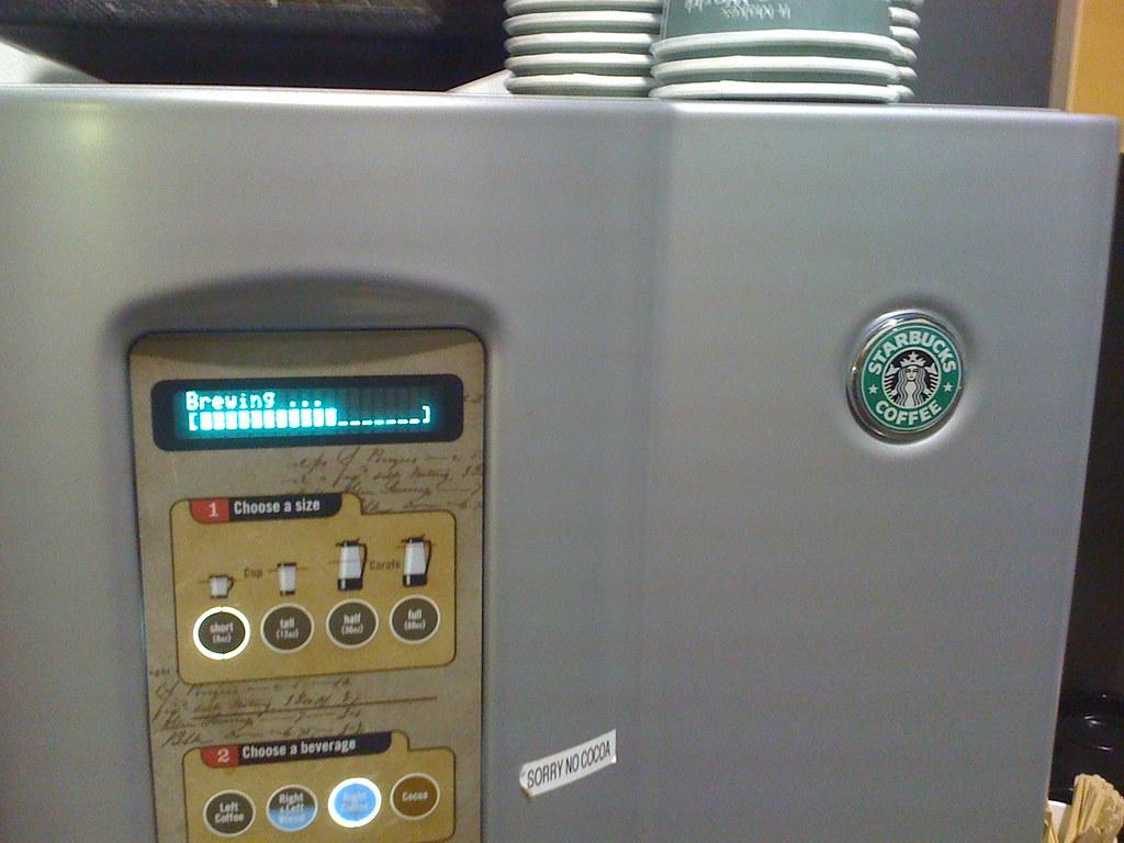 starbucks new coffee machine