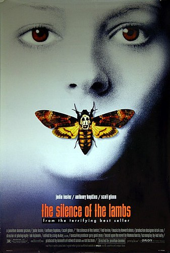 Silence Of The Lambs 1991 Original Vintage Us One Sheet Mo