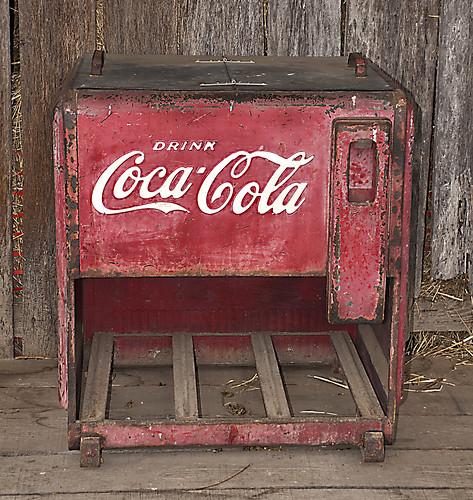 old coke machine j niles clement flickr. Black Bedroom Furniture Sets. Home Design Ideas