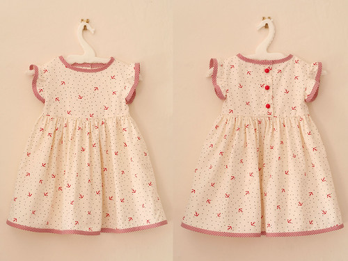 Summer Baby Dress Pattern From Quot Vintage Style For Kids