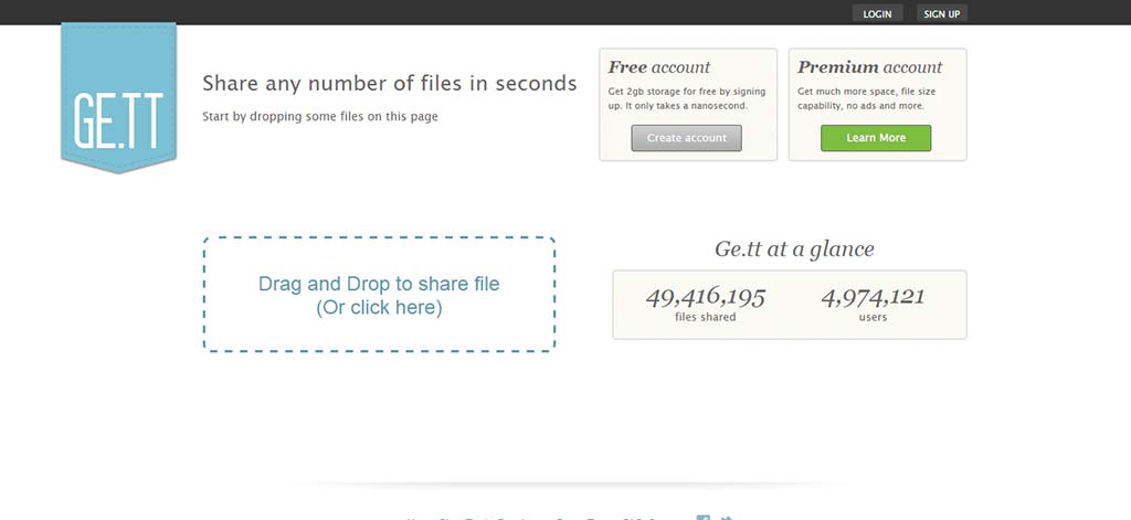 Extremely useful websites #18: Send & share your files online without trying to create Dropbox share link and remove the link thereafter.