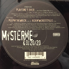 MYSTERME & DJ 20:20:PLAYTIME'S OVER(LABEL SIDE-B)