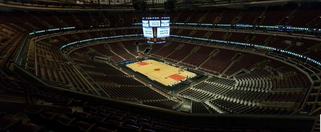 UNITED Center Chicago Panoramic Empty Venue photo | GREAT ...