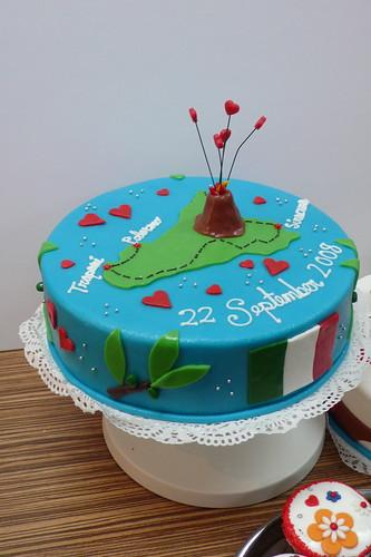 World Map Cake Template