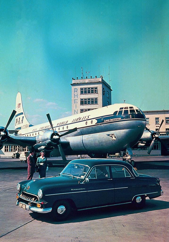 pan american world airways 19531955 opel kapit228n no