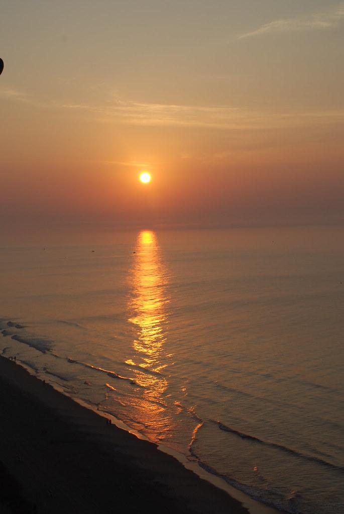 Sunrise In Myrtle Beach In April
